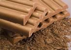 Chocolate cobertura con leche