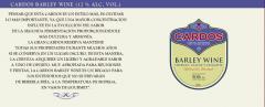 Barley wine, el vino de cebada