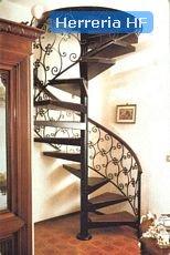 Escaleras forjadas.