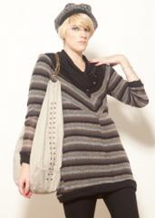 Sweater Dana Rayado