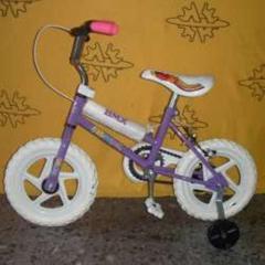 """Bicicleta niñas rodado 12"""", BMX"""