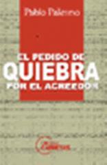 Libro Pablo Palermo El pedido de quiebra por el