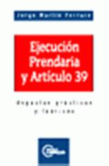 Libro Jorge Martín Ferraro Ejecución prendaria
