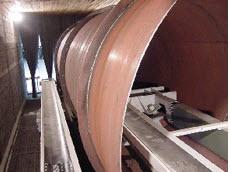 Granalladoras de tubo interno