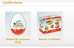 Huevo de Chocolate  Kinder Sorpresa