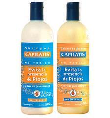 Champú Capilatis a base de Palo Amargo Para evitar