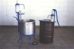 Dosificadora Manual para aplicar tambor