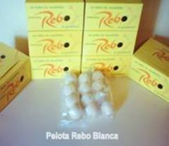 """Caja de 24 pelotas """"REBO"""""""
