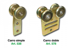 Carro Simple y Doble Art. 525-572