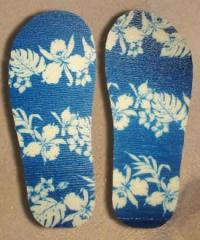 Ojota Hawai Azul