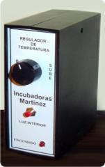 Regulador electrónico para incubadoras