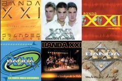 Banda XXI ** Los más grandes exitos** ( Dvd )