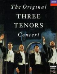 Los tres  tenores en concierto ** Pavarotti carreras domingo** ( Dvd)