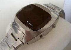 Reloj FOLE Fossil Led Vintage American