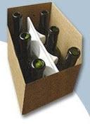 Separadores de Poliestireno para Botellas
