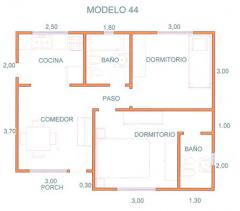 Casas, Modelo 44