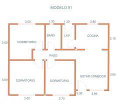 Casas, Modelo 51 A