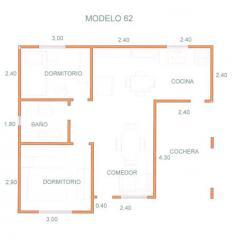 Domestic houses (econom)