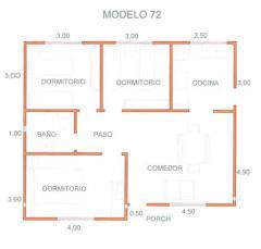 Casas, Modelo 72