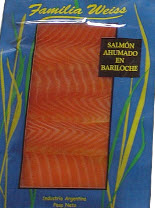 Salmon Ahumado en Filetes