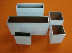 Tubos Cuadrados de Aluminio