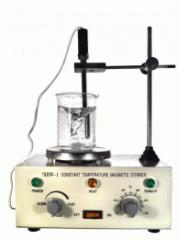 Agitador Magnético con Calefacción y Sonda de