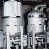 Devices and filters of feedwater for industrial