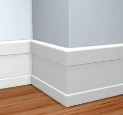 Linea base blanca