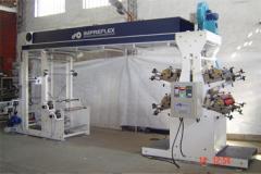 Maquina impresora por flexografia de43 4 colorres