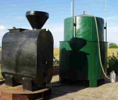 Biodigestor para obtener biogas