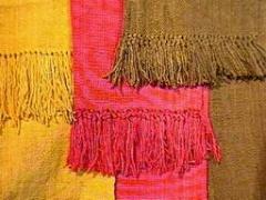 Chalinas de colores, de lana de oveja