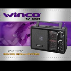 Radio de Mesa Dual Winco W-1231