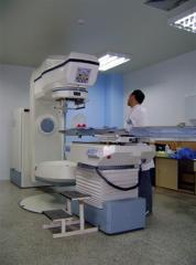 Salas de tratamiento y de simulación