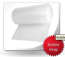 Rollos de polietileno con burbujas de aire