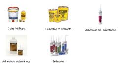 Adhesivos y selladores.