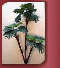Planta Fan Palm artificial