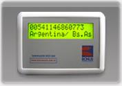 Tarifador RCP 700 (Tarifador Celular)