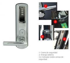 Cerradura biometrica 8909