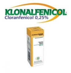 Remedios oftalmológicos Klonalfenicol Solución