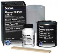 Reparaciones de Caucho. Flexane 80 Putty
