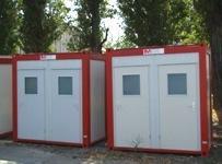 Toilettes Dobles