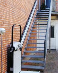 Escaleras recta