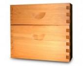 Alzas de madera Eucaliptus Saligna.