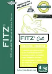 Sanitario Granulado Fitz Cat Premium con Zeolita