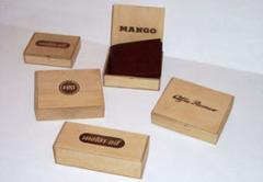 Cajas de madera