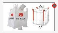 Big Bags con válvula de carga y descarga