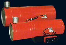 Heatings gas devices