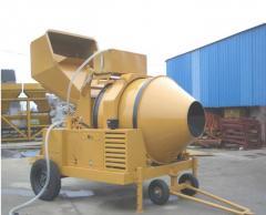 Mezclador de concreto tambor de mezclado