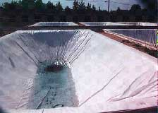 Geomembranas MCF 200N-X2 (con geotextil) ; PVC