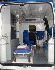 Equipment for ambulance